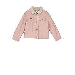 Outfit Kids - Girls' pink denim jacket