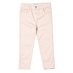 Outfit Kids - Girls' pink stretch skinny fit jeans