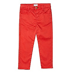 Outfit Kids - Girls' red stretch skinny fit jeans