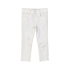 Outfit Kids - Girls' white skinny fit jeans