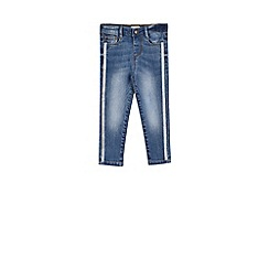 Outfit Kids - Girls' blue skinny denim jeans
