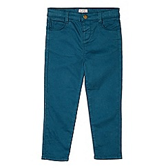 Outfit Kids - Girls' teal blue stretch skinny fit jeans