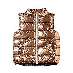 Outfit Kids - Girls' gold padded gilet