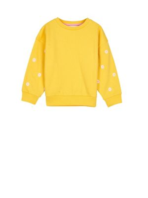 Outfit Kids   Girls' Yellow Daisy Sweatshirt by Outfit Kids