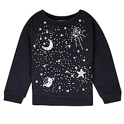 Outfit Kids - Girls' embroidered sweat top