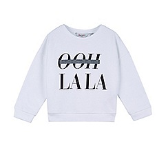Outfit Kids - Girls' white ooh lala top