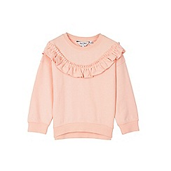 Outfit Kids - Girls' pale pink frill sweat top