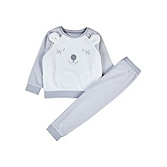 Outfit Kids - Girls' grey polar bear set