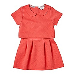 Outfit Kids - Girls' red quilted dress