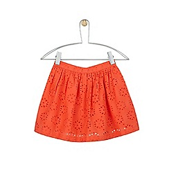 Outfit Kids - Girls' coral broderie skirt