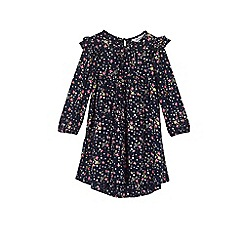 Outfit Kids - Girls' navy floral dress