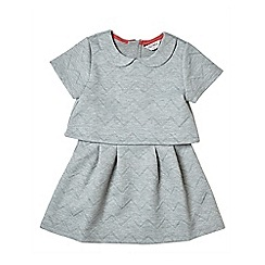 Outfit Kids - Girls' grey quilted dress