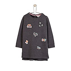 Outfit Kids - Girls' black washed sweat dress