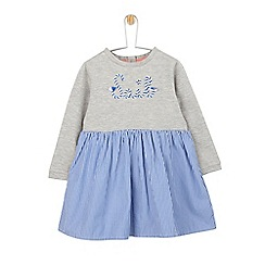 Outfit Kids - Girls' Grey 'Sail' Slogan Dress