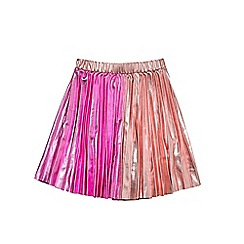 Outfit Kids - Girls' pink pleated skirt