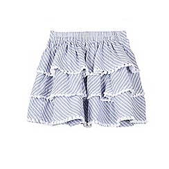 Outfit Kids - Girls' Ticking Striped Rara Skirt