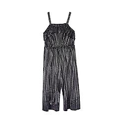 Outfit Kids - Girls' silver off shoulder jumpsuit