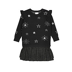 Outfit Kids - Girls' black knitted dress