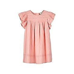 Outfit Kids - Girls' pink woven frill sleeve dress
