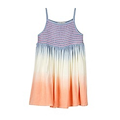 Outfit Kids - Girls' Blue Ombre Midi Dress