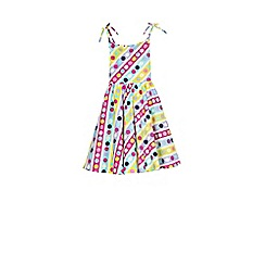 Outfit Kids - Girls' multi colour festival printed dress