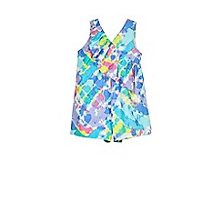 Outfit Kids - Girls' festival printed playsuit