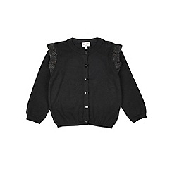 Outfit Kids - Girls' black frill cardigan