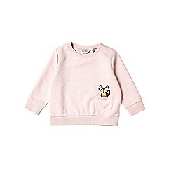 Outfit Kids - Girls' pink 'Fox' sweatshirt
