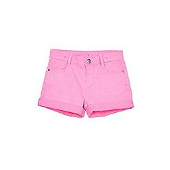 Outfit Kids - Girls' pink denim shorts