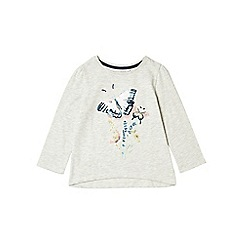Outfit Kids - Girls' grey sequin butterfly top