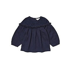 Outfit Kids - Girls' navy woven top