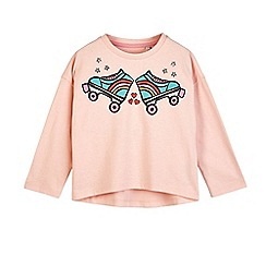 Outfit Kids - Girls' pink motif t-shirt