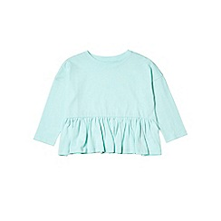 Outfit Kids - Girls' mint green frill hem top