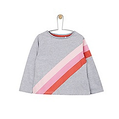 Outfit Kids - 2 pack girls' grey and pink t-shirts