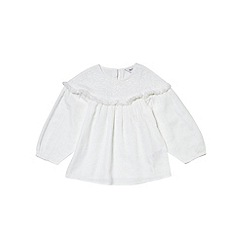 Outfit Kids - Girls' cream woven top