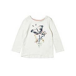 Outfit Kids - Girls' pink sequin butterfly top