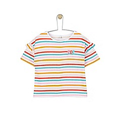 Outfit Kids - Girls' multicolour striped t-shirt