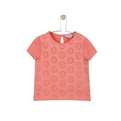 c359006e5e48 Outfit KIDS - Girls  pink broderie mix t-shirt