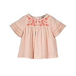 Outfit Kids - Girls' pink frill yolk top