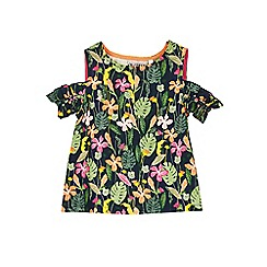 Outfit Kids - Girls' jungle print top