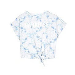 Outfit Kids - Girls' Blue Tie Dye Paradise Top