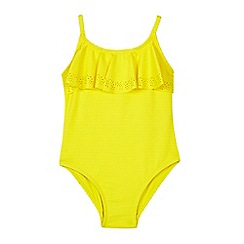 Outfit Kids - Girls' Yellow Laser Swimsuit
