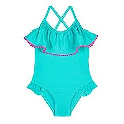 Outfit Kids - Girls' Blue Waterfall Bikini