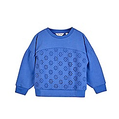 Outfit Kids - Girls' cobalt sweatshirt
