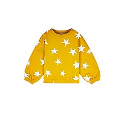 Outfit Kids - Girls' yellow star sweat top