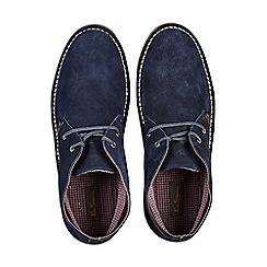 Burton - Navy suede desert boots