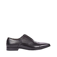 Burton - Black leather formal shoes