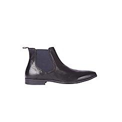 Burton - Black leather Chelsea boots