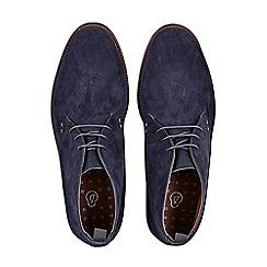 Burton - Navy marcel desert boots
