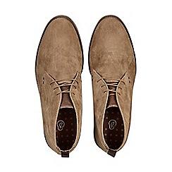 Burton - Beige suede desert boots
